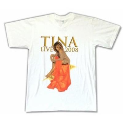 ファッション トップス Tina Turner-Live 2008-White T-shirt