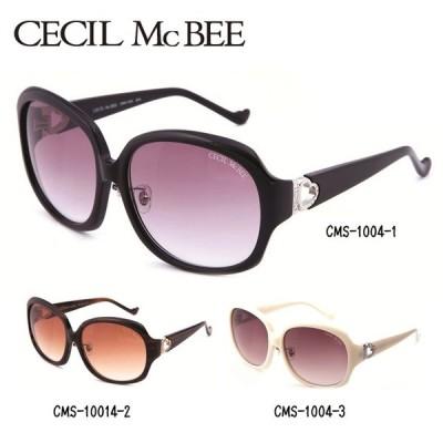 サングラス セシルマクビー CECIL McBEE CMS1004-1/CMS1004-2/CMS1004-3 紫外線 UV レディース 女性