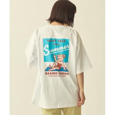 【ビューティ&ユース ユナイテッドアローズ】  <OSAMU GOODS(R)>×<info. BEAUTY&YOUTH> PRINT TEE/Tシャツ ユニセックス その他4 S BEAUTY&YOUTH UNITED ARROWS