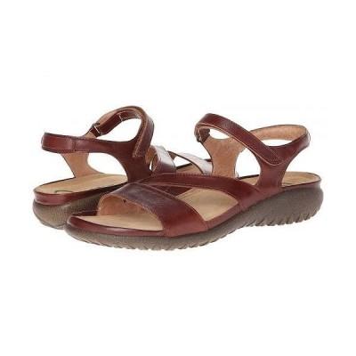 Naot ナオト レディース 女性用 シューズ 靴 サンダル Etera - Luggage Brown Leather