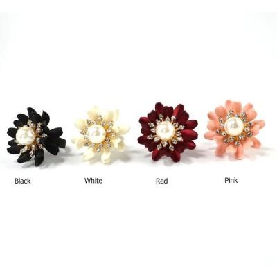 ペタルリング 花 フラワー フリーサイズ レディース 指輪