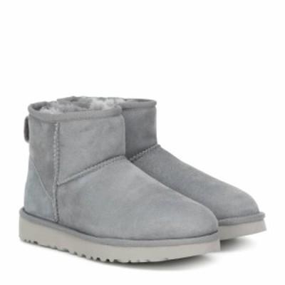 アグ Ugg レディース ブーツ ショートブーツ シューズ・靴 classic mini ii suede ankle boots