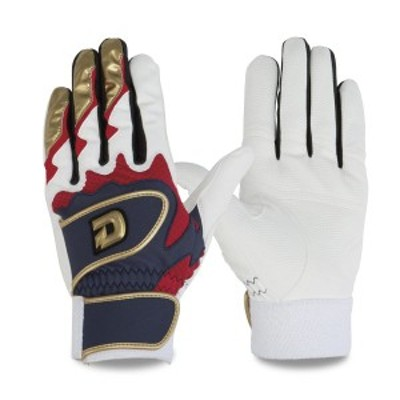 ウィルソン バッティング手袋 ディマリニ ネイビー/レッド wtabg0306 両手組 ゆうパケット対応 Wilson