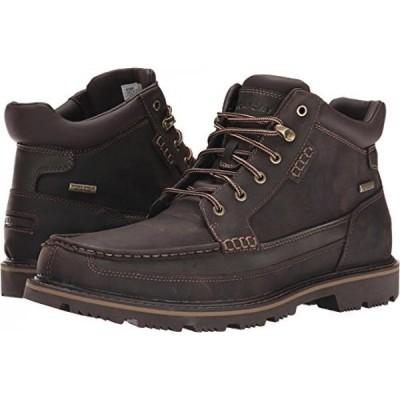 ロックポート メンズ ブーツ Rockport Men's Gentlemen WP Moc-Toe Mid Chukka Boot