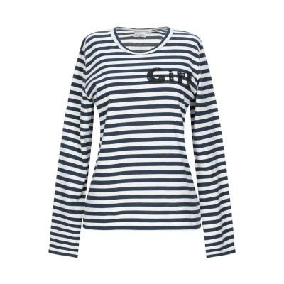 コム デ ギャルソン・シャツ COMME des GARÇONS T シャツ ダークブルー XS コットン 100% T シャツ