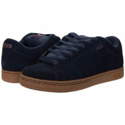 Etnies エトニーズ メンズ 男性用 シューズ 靴 スニーカー 運動靴 Kingpin Navy/Red/Gum【送料無料】