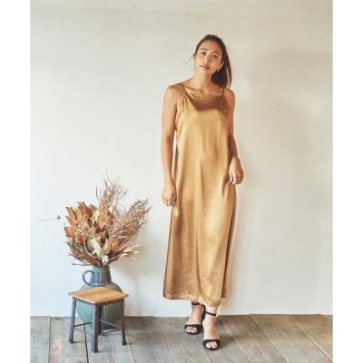 ドレス Marie Miller VINTAGE SATIN DRESS (マリーミラー ビンテージ サテン ドレス)(3colors)(M36)