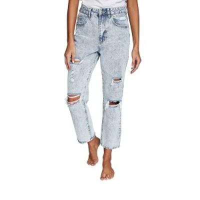 コットンオン レディース デニムパンツ ボトムス Straight Leg Jeans FAIRHAVEN BLUE RIP
