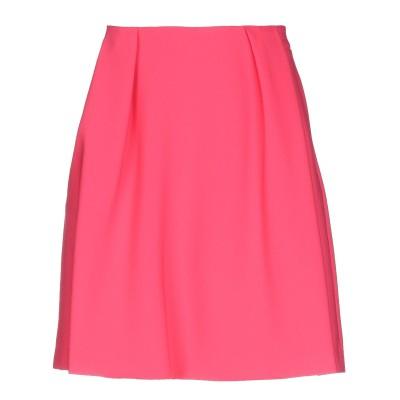 ANNIE P. ひざ丈スカート フューシャ 40 ポリエステル 95% / ポリウレタン 5% ひざ丈スカート