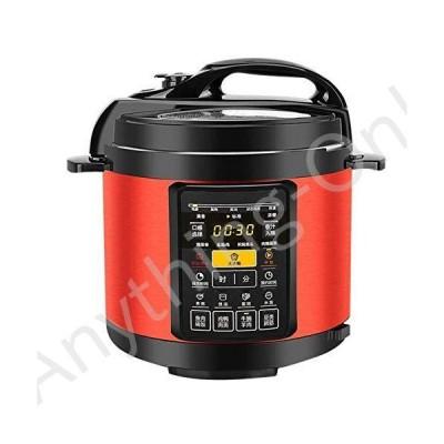 【新品】Small Electric Pressure Cooker, Mini Smart Electric Pressure Cooker 4L for 4-6 People, Electric Pressure Cooker, Power 900W