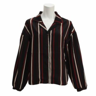ノーブランド(NO BRAND)オープンカラーシャツ 18385003BK オンライン価格 (Lady's)