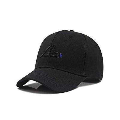 [Lovechic] キャップ 大きいサイズ 帽子 メンズ 深め 特大 60-65cm おしゃれ 春 夏 秋冬 男女兼用(ブラック-B)