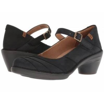 El Naturalista エルナチュラリスタ レディース 女性用 シューズ 靴 ヒール Aqua N5327 Black/Black【送料無料】