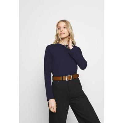 アンナフィールド レディース ファッション Long sleeved top - dark blue
