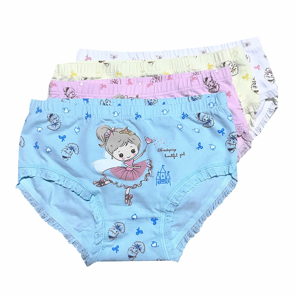 女童內褲中小童內褲女童花邊內褲三角褲卡通女童內褲女寶寶內褲