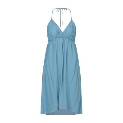 サンシックスティエイト SUN 68 ミニワンピース&ドレス パステルブルー M レーヨン 100% ミニワンピース&ドレス
