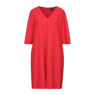 ANTONELLI ミニワンピース&ドレス レッド 46 ポリエステル 94% / ポリウレタン 6% ミニワンピース&ドレス