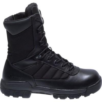 ベイツ ブーツ&レインブーツ シューズ レディース Bates Women's Tactical Sport 8'' Side Zip Work Boots Black