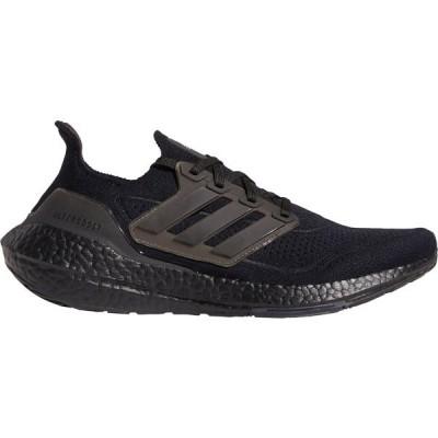 アディダス シューズ メンズ ランニング adidas Men's Ultraboost 21 Running Shoes Black/Black