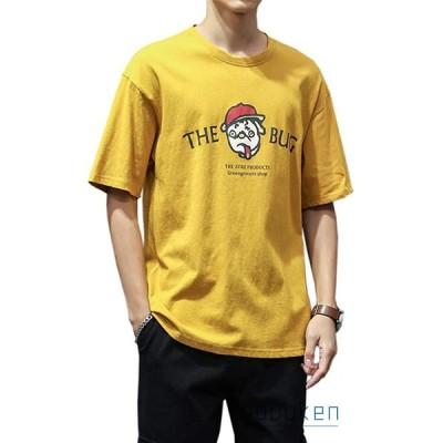 Tシャツ メンズ 半袖 夏 大きいサイズ クルーネック インナーシャツ 薄手 軽い 柔らかい 通気性 快適 カッコイイ ファッション 通勤