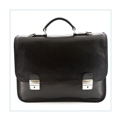Leather Business Bag Color Black並行輸入品