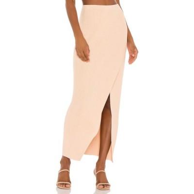アミューズ ソサイエティー AMUSE SOCIETY レディース ロング・マキシ丈スカート スカート Mona Knit Maxi Skirt Dune