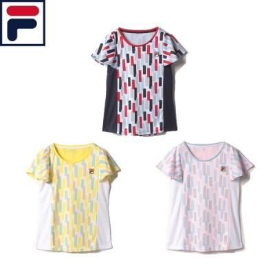 『ポスト投函(日本郵便)対応商品(1点まで)』 フィラ ゲームシャツ VL2280 ウィメンズ テニス
