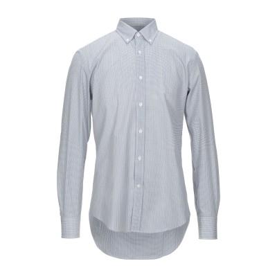 ランバン LANVIN シャツ ブルー 41 コットン 100% シャツ