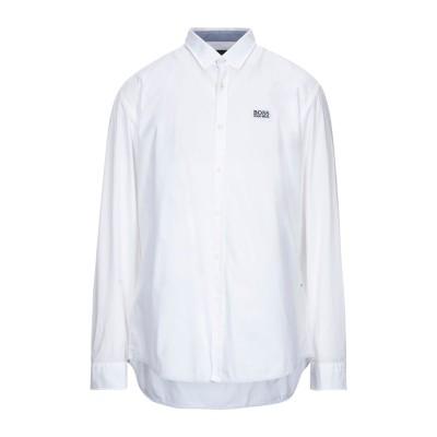 BOSS HUGO BOSS シャツ ホワイト XXL コットン 95% / ポリウレタン 5% シャツ
