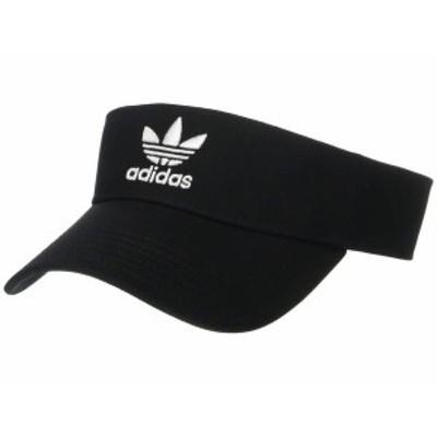 アディダス メンズ 帽子 アクセサリー Originals Twill Visor Black/White