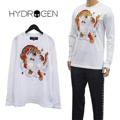 ハイドロゲン HYDROGEN×HORIOKAMI ロンT 260630-001 WHITE ホワイト