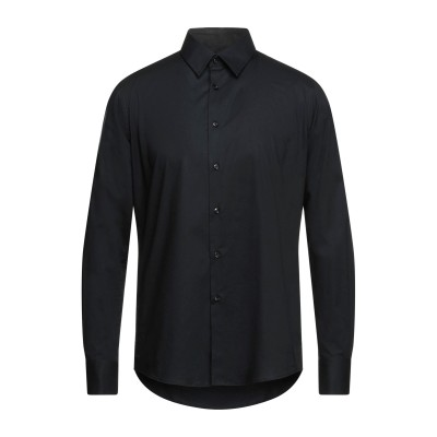 YOON シャツ ブラック 41 コットン 97% / ポリウレタン 3% シャツ