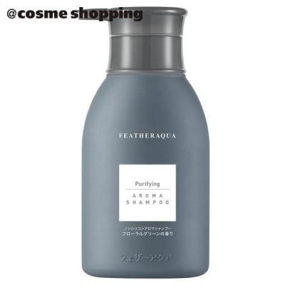 FEATHERAQUA ピューリファイング ノンシリコン アロマ シャンプー <J1>(本体 フローラルグリーンの香り) シャンプー