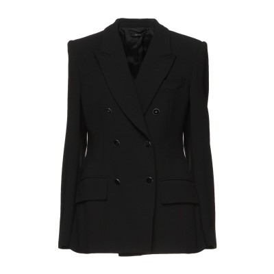 トム フォード TOM FORD テーラードジャケット ブラック 36 バージンウール 96% / ポリウレタン 4% テーラードジャケット