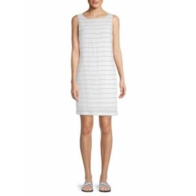 ビーチランチラウンジ レディース ワンピース Striped Sleeveless Dress