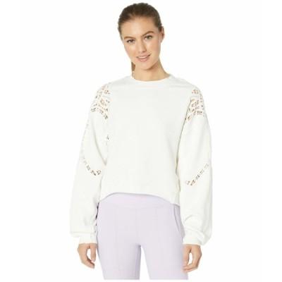 エフピームーブメント パーカー・スウェットシャツ アウター レディース Sun and Done Sweatshirt Ivory