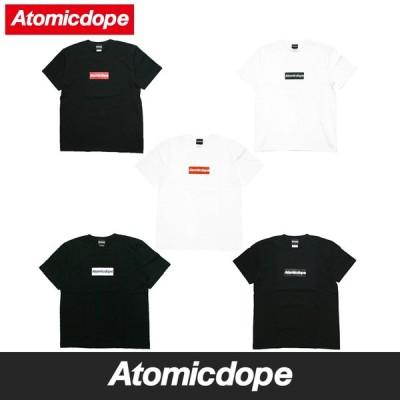 Atomicdope Box Logo Tシャツ ボックスロゴ 半袖 Tee アトミックドープ