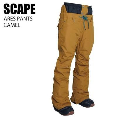 SCAPE エスケープ ウェア ARES PANTS 21-22 CAMEL レディース パンツ スノーボード