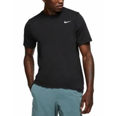 ナイキ メンズ Tシャツ トップス Men's Dri-FIT Training T-Shirt Black
