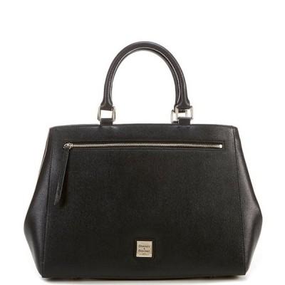 ドーネイアンドバーク レディース ハンドバッグ バッグ Saffiano Collection Leather Satchel Magnetic Snap Bag