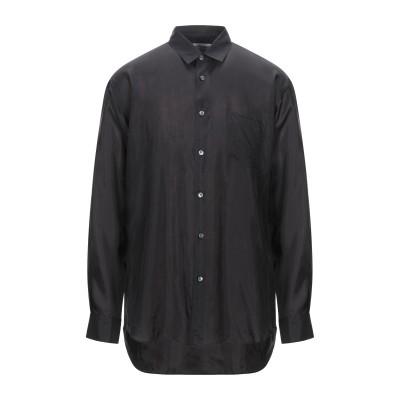 COMME des GARÇONS SHIRT シャツ ブラック S キュプラ 100% シャツ
