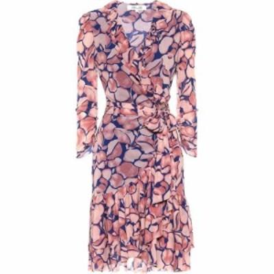 ダイアン フォン ファステンバーグ Diane von Furstenberg レディース ワンピース ワンピース・ドレス Paloma Printed Wrap Minidress Mi