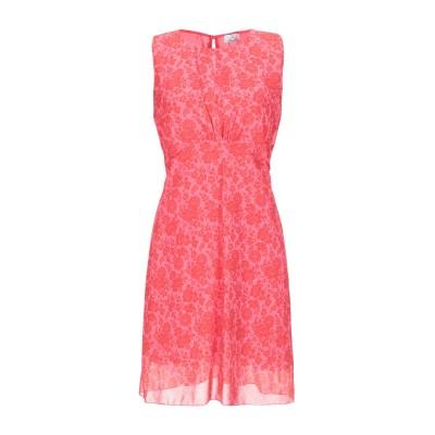 ベルナ BERNA ミニワンピース&ドレス フューシャ M ポリエステル 100% ミニワンピース&ドレス