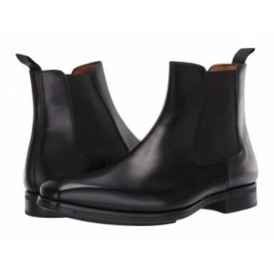 Magnanni マグナーニ メンズ 男性用 シューズ 靴 ブーツ チェルシーブーツ Riley Black【送料無料】