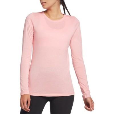 DSG レディース トップス Core Cotton Jersey Long Sleeve Shirt Blush Noir Heather