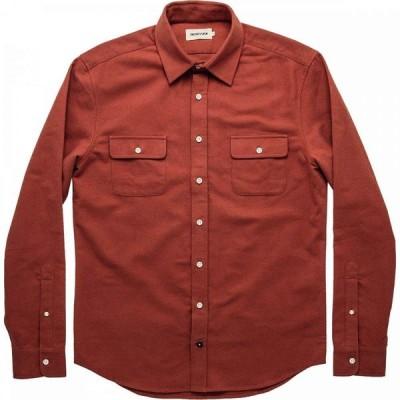 テイラー スティッチ Taylor Stitch メンズ シャツ トップス The Yosemite Shirt Dusty Red