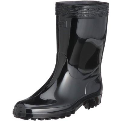[アサヒ] レインブーツ 作業長靴 日本製 ハイゼクト 紳士K メンズ ブラック 25.5 cm 2E