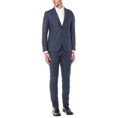 ALESSANDRO GILLES スーツ ブルー 50 バージンウール 100% スーツ