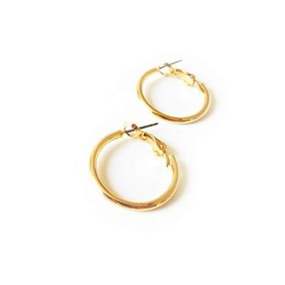 フープ ピアス 丸線 2.3cm (BP-1) ゴールド色
