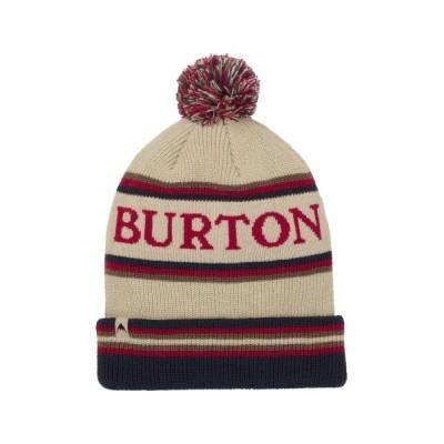 Burton / ポンポン付き ロゴ ニット帽 MEN 帽子 > ニットキャップ/ビーニー